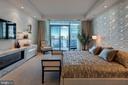 Master Bedroom has access to balcony - 1881 N NASH ST #2309, ARLINGTON