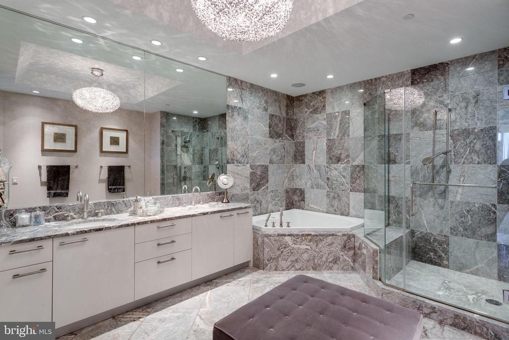 Large European-style Master Bathroom - 1881 N NASH ST #2309, ARLINGTON
