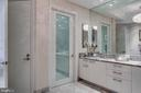 Master bath includes spacious linen closet - 1881 N NASH ST #2309, ARLINGTON
