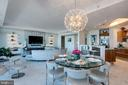 Great Room  Dining Area - 1881 N NASH ST #2309, ARLINGTON