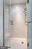 2nd bathroom shower includes small bench - 1881 N NASH ST #2309, ARLINGTON