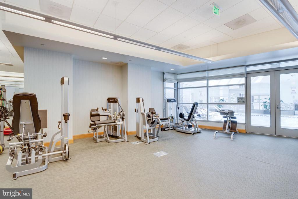 Fitness Center - 1881 N NASH ST #2309, ARLINGTON