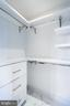 2nd bedroom closet organizer - 1881 N NASH ST #2309, ARLINGTON