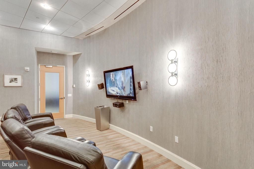 Media  Room - 1881 N NASH ST #2309, ARLINGTON
