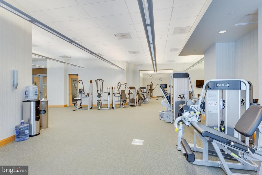 Fitness Center - 1881 N NASH ST #2309, ARLINGTON