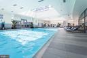 Indoor heated swimming pool and whirlpool spa - 1881 N NASH ST #2309, ARLINGTON