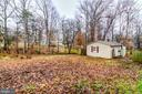 Giant shed with full insulation on 0.49 acres - 5 BREEZY HILL DR, STAFFORD