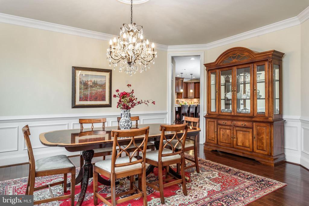 Large formal Dining Room - 10323 LYNCH LN, OAKTON