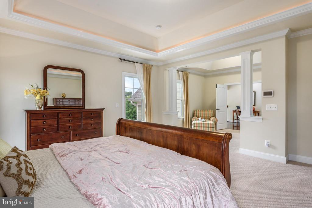 Master Bedroom and sitting room - 10323 LYNCH LN, OAKTON