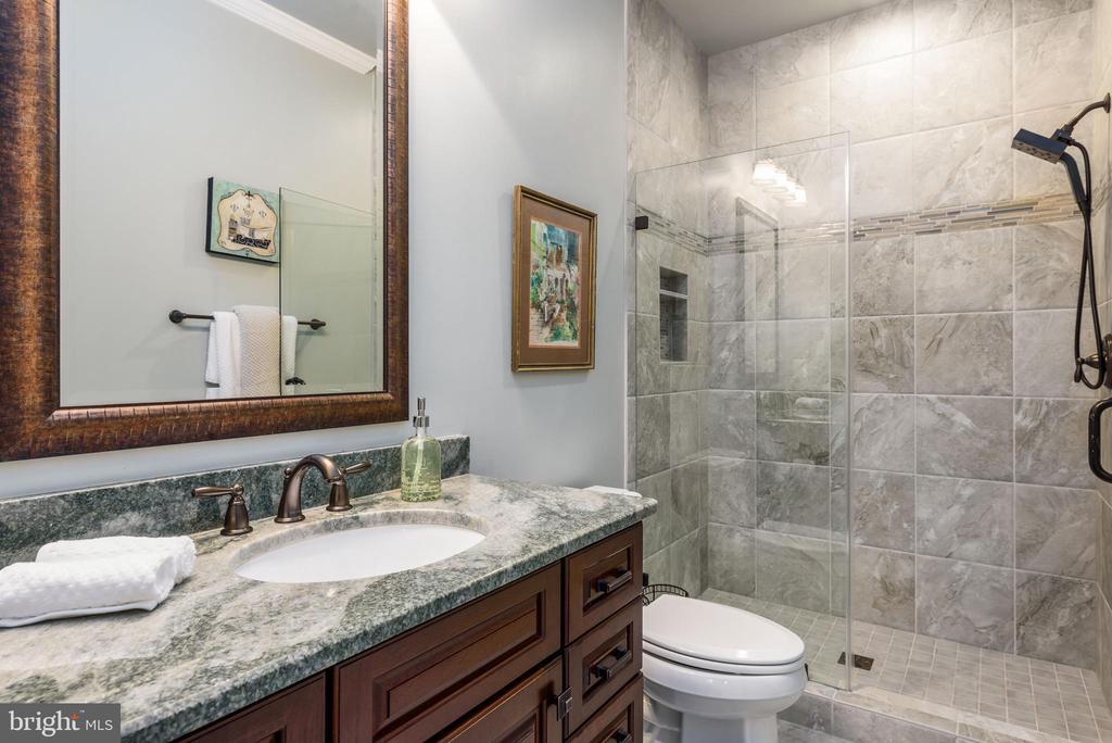 Stunning private bath - 10323 LYNCH LN, OAKTON