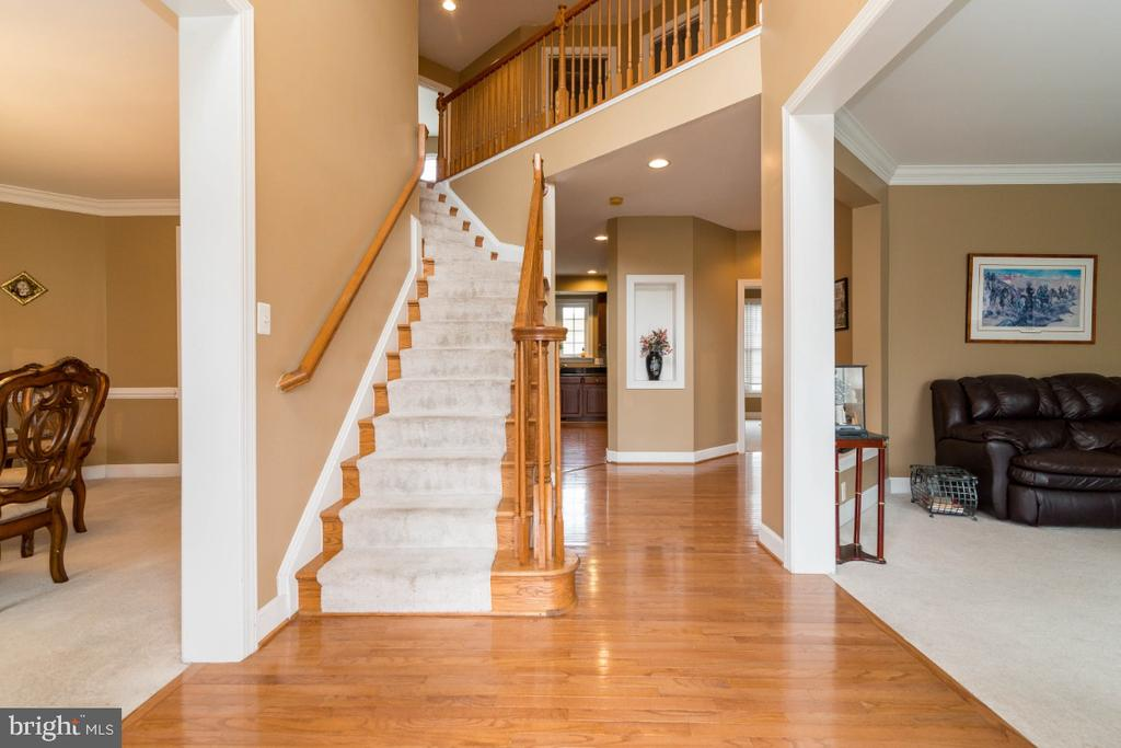 2-Story Foyer - 3629 STONEWALL MANOR DR, TRIANGLE