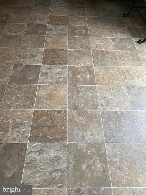 Beutiful floors in the kitchen, very functional. - 8607 BRIAN CT, MANASSAS PARK