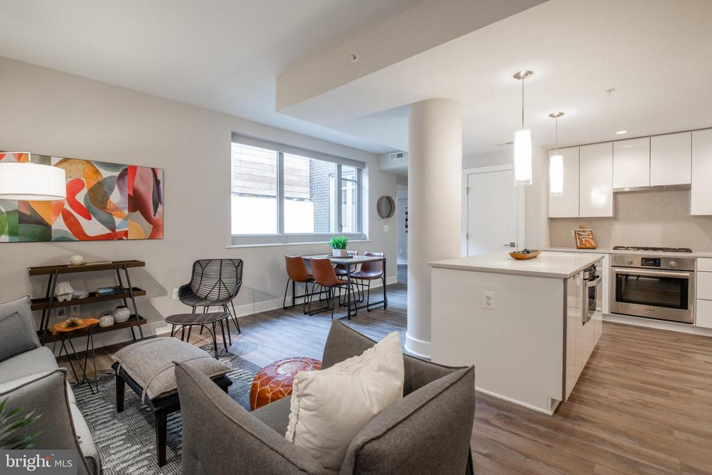 Open Floorplan - 1311 13TH ST NW #T09, WASHINGTON