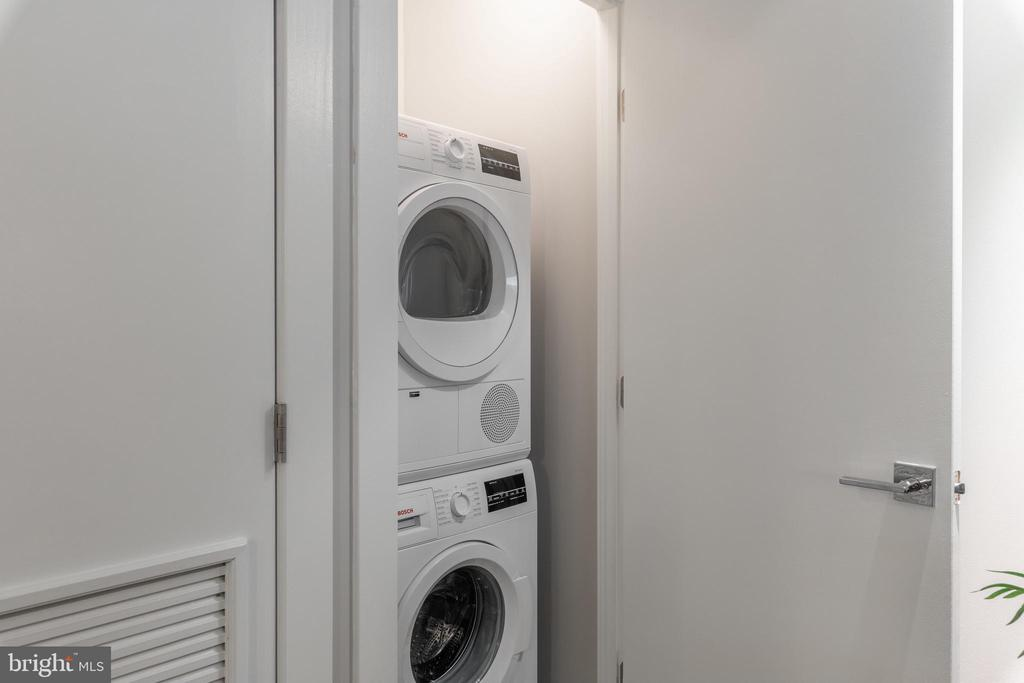 Laundry in Unit - 1311 13TH ST NW #T09, WASHINGTON