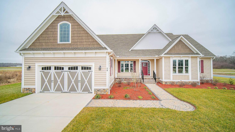 Single Family Homes pour l Vente à Smyrna, Delaware 19977 États-Unis
