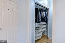 Walk-in closet space in Master - 5 BREEZY HILL DR, STAFFORD