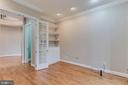 study with built in bookcases - 17066 WINNING COLORS PL, LEESBURG