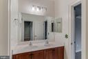 jack and jill bathroom - 17066 WINNING COLORS PL, LEESBURG
