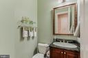 half bath on main level - 17066 WINNING COLORS PL, LEESBURG