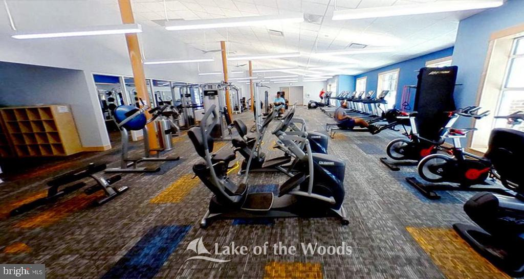 Work out at the new fitness center - 310 HAPPY CREEK RD, LOCUST GROVE