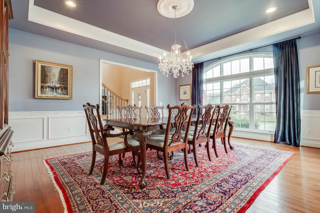 Large Formal Dining Room - 41985 RIDING MILL PL, ASHBURN