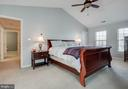 Master Suite with Walk-in Closet - 43265 KATIE LEIGH CT, ASHBURN