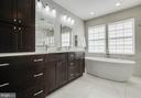 Luxury Master Bath Renovated in 2018 - 43265 KATIE LEIGH CT, ASHBURN