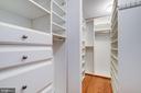 Custom Walk-in Closet - 605 7TH ST SW, WASHINGTON
