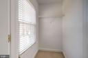 Walk-in Closet - 605 7TH ST SW, WASHINGTON