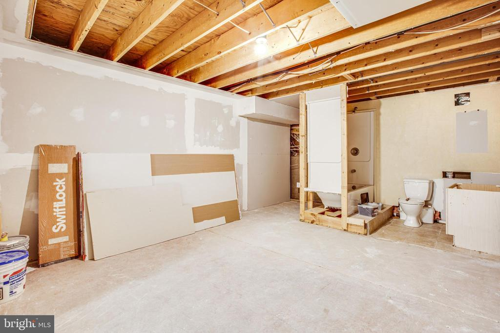 UNFINISHED LOWER LEVEL (PROJECT) - 7311 MIDDLETON DR, FREDERICKSBURG