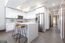 Custom designed chef's kitchen - 2109 M ST NE #9, WASHINGTON