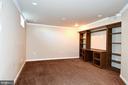 One of two bedrooms in basement apartment - 9814 SPINNAKER ST, CHELTENHAM
