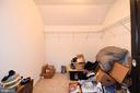 Walk-in closet in Master - 9814 SPINNAKER ST, CHELTENHAM