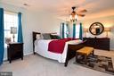 Master bedroom - 9814 SPINNAKER ST, CHELTENHAM