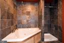 Full bathroom in basement apartment - 9814 SPINNAKER ST, CHELTENHAM