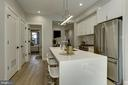 Large kitchen island - 1719 EUCLID ST NW #2, WASHINGTON