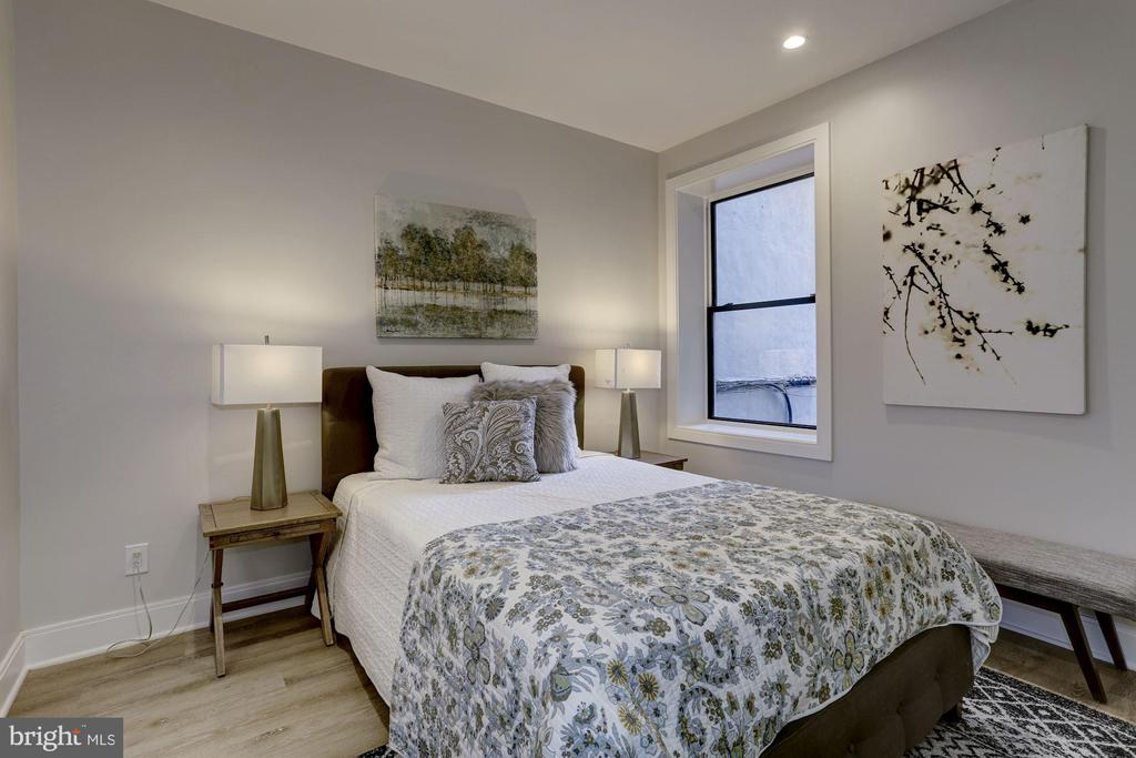 1 of 2 perfect bedrooms - 1719 EUCLID ST NW #2, WASHINGTON