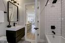 2nd full bath - 1719 EUCLID ST NW #2, WASHINGTON