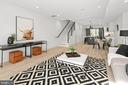 Photo of Similar Unit: Living Room - 1707 WEST VIRGINIA AVE NE #4, WASHINGTON