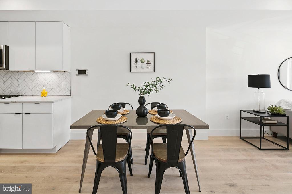 Photo of Similar Unit: Dining Area - 1707 WEST VIRGINIA AVE NE #4, WASHINGTON