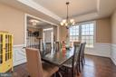 Formal Dining Room.. Pretty View - 8124 TWELFTH CORPS DR, FREDERICKSBURG
