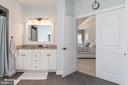 Dual Vanities with Granite.. - 8124 TWELFTH CORPS DR, FREDERICKSBURG