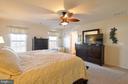 spacious master bedroom - 75 CHAPS LN, FREDERICKSBURG