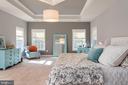 Master Bedroom - 8124 TWELFTH CORPS DR, FREDERICKSBURG