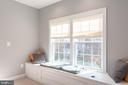 Built- in Storage and Window Seating - 8124 TWELFTH CORPS DR, FREDERICKSBURG