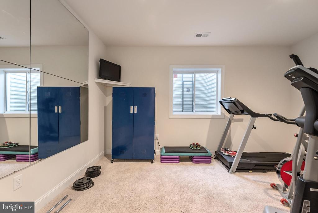 Exercise Room.. - 8124 TWELFTH CORPS DR, FREDERICKSBURG