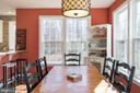 Morning Room off Kitchen - 8124 TWELFTH CORPS DR, FREDERICKSBURG