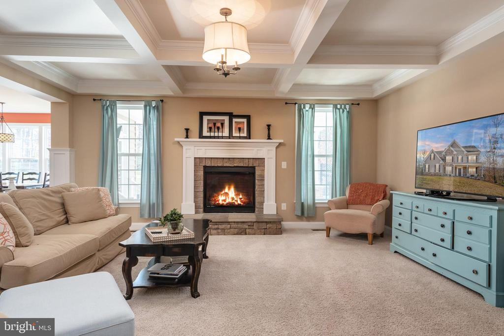 Natural Gas Fireplace, Heating and Hotwater - 8124 TWELFTH CORPS DR, FREDERICKSBURG