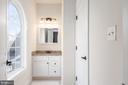 Beautiful Palladian Window in this Bathroom - 8124 TWELFTH CORPS DR, FREDERICKSBURG