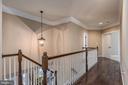 Upstairs Hallway.. - 8124 TWELFTH CORPS DR, FREDERICKSBURG